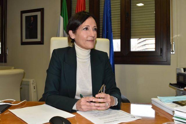 La delegada de la Junta en Jaén, Maribel Lozano