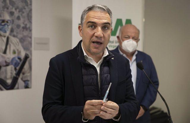 El consejero de la Presidencia, Administración Pública e Interior, Elías Bendodo - María José López - Europa Press
