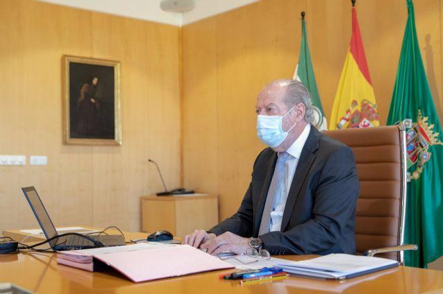 Fernando Rodríguez Villalobos, en sesión telemática