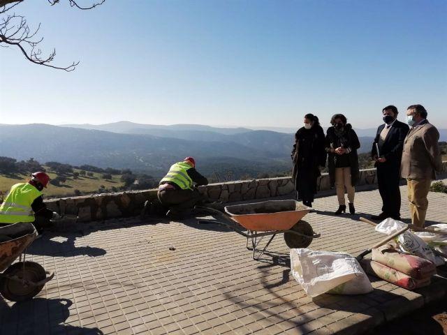 Obras del PFEA en Cumbres de San Bartolomé (Huelva)