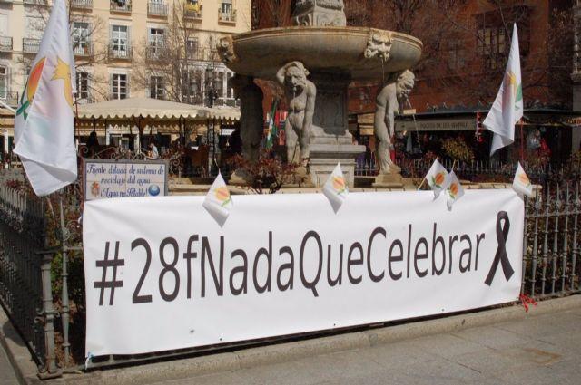 Concentración en Granada por la autonomía de la provincia
