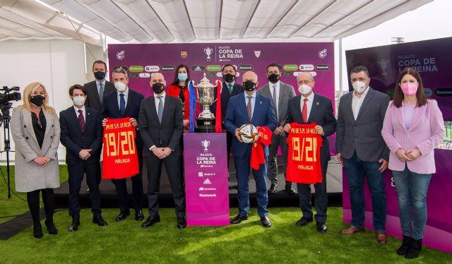 Presentación en Málaga de la final del Campeonato de España-Copa de S.M. La Reina 2019/2020