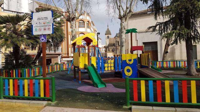 Parque infantil de Lucena