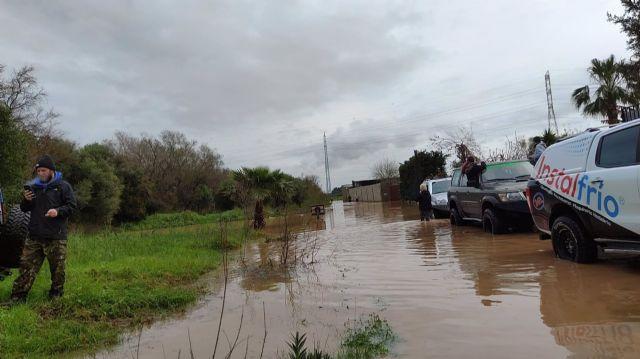 Inundaciones este domingo en Los Barrios