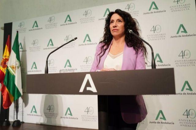 La consejera de Igualdad, Rocío Ruiz