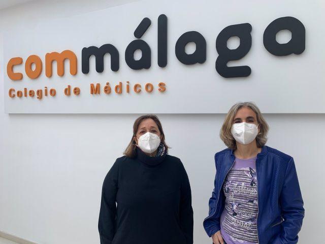 Las doctoras María José Torres Jaén, coordinadora de la encuesta y tesorera del Colegio de Médicos de Málaga, y Lola Luque, portavoz del Observatorio de la Mujer del Colegio de Médicos de Málaga
