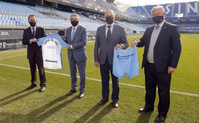 Renovación del acuerdo entre el Málaga Club de Fútbol y Turismo Costa del Sol