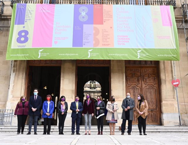 Celebración del 8M en la Diputación de Jaén