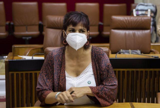 La diputada no adscrita Teresa Rodríguez - María José López - Europa Press