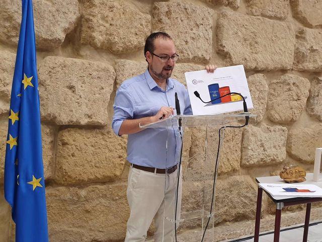 El concejal de Podemos en el Ayuntamiento de Córdoba, Juan Alcántara, en una imagen de archivo