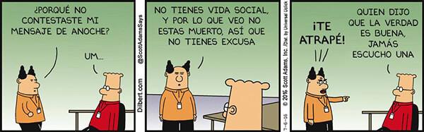 Tira cómica de Dilbert
