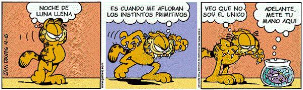 Tira cómica de Garfield